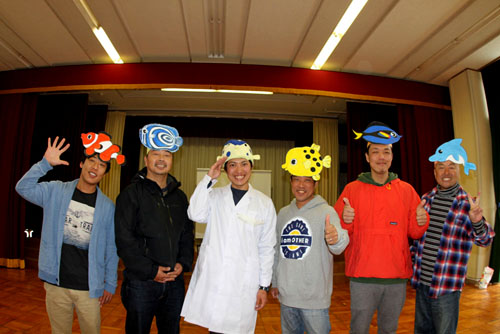 串本幼稚園に行ってきました