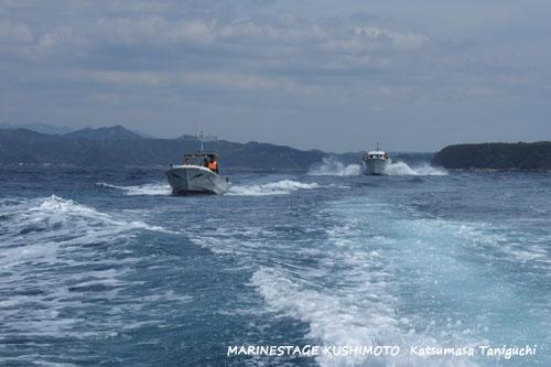 津波避難訓練の様子2