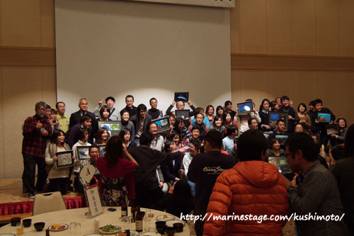 第21回串本海中フォトコンテスト授賞式