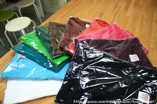 新作Tシャツの限定カラー達