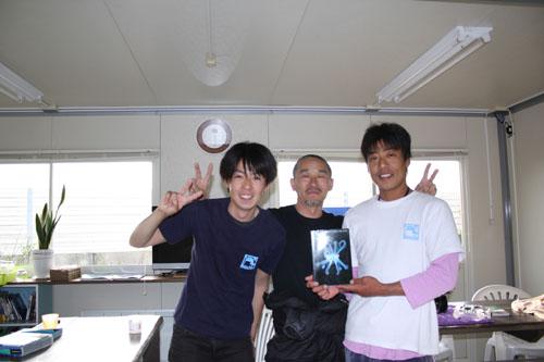 水中写真家 阿部秀樹さんが来て下さいました