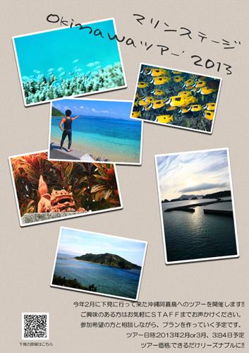 沖縄ツアー'2013POP