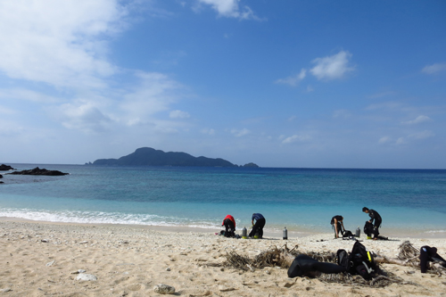 阿嘉島 ひずしビーチ