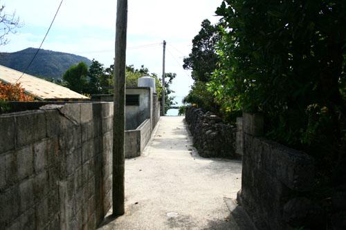 阿嘉島の風景