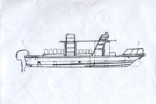 マリンステージ ニューボート完成予想図